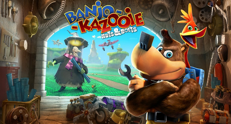 banjo kazooie nuts and bolts xbox game