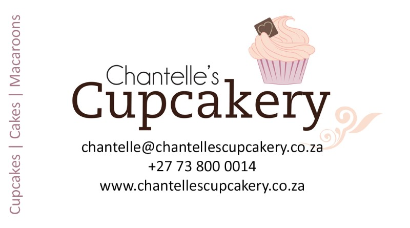 Chantelle's Cupcakery Business Card