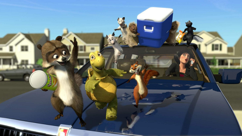 over the hedge movie