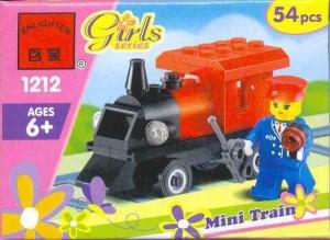 enlighten lego girls train set