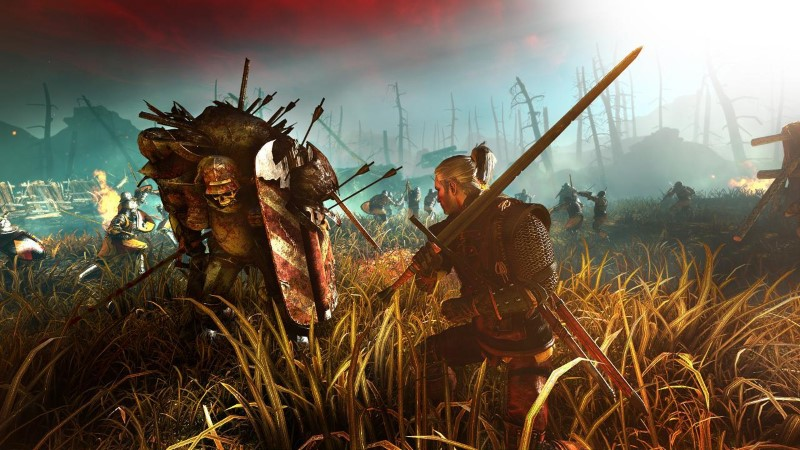 the witcher 2 xbox screengrab