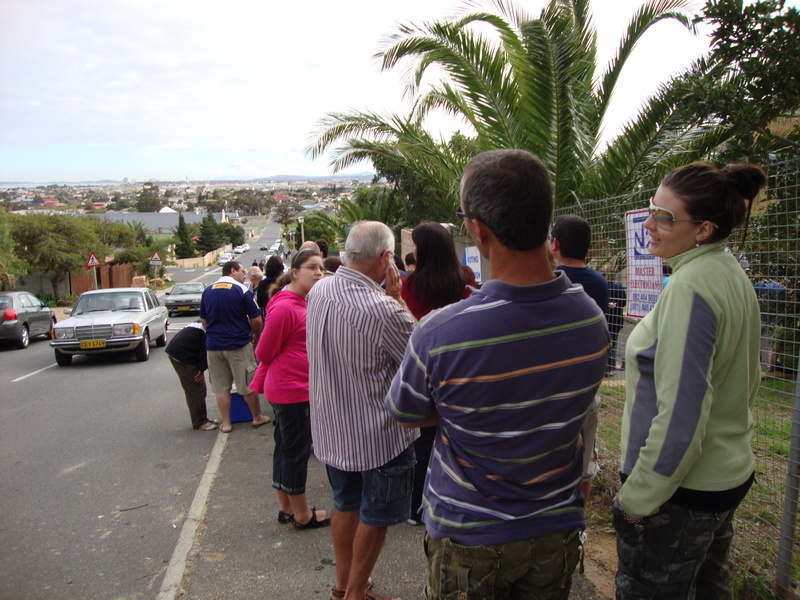 south africa voting station at gordons bay primary school
