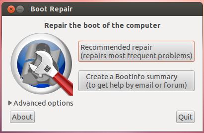 boot-repair screenshot