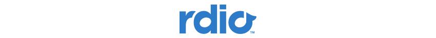 rdio logo strip