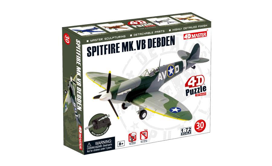 4d master spitfire mk.vb debden model box