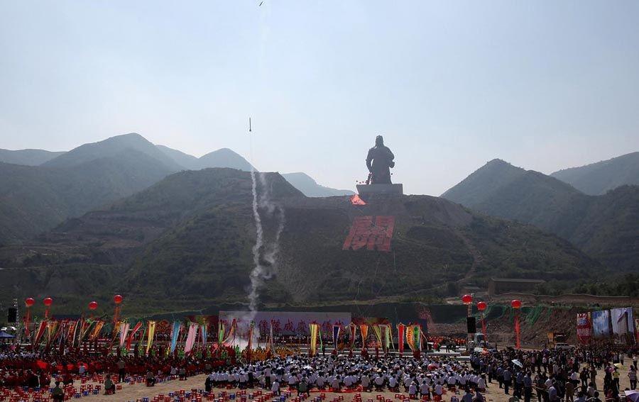 Guan Yu of Yuncheng Giant Statue 2