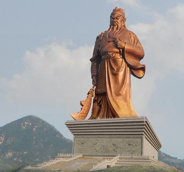 Guan Yu of Yuncheng Giant Statue 3