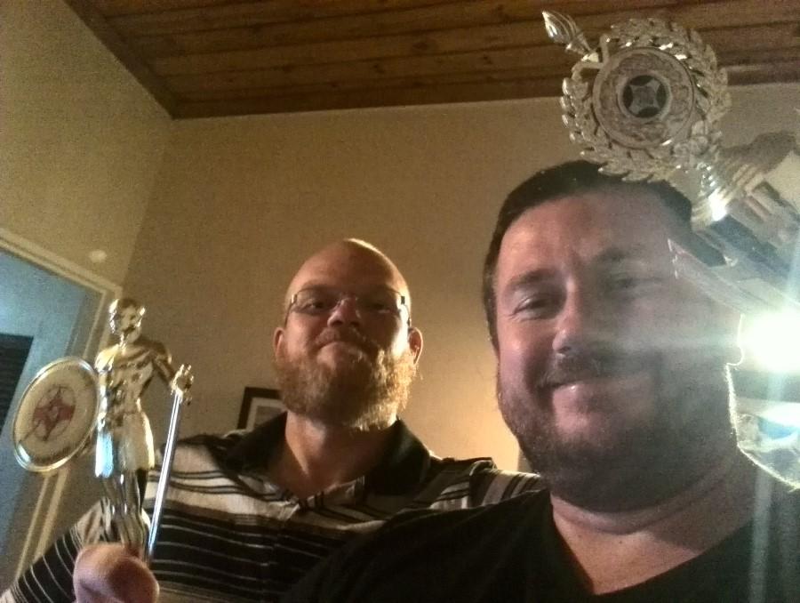 ryan lotter and craig lotter triumphant at xbox fifa
