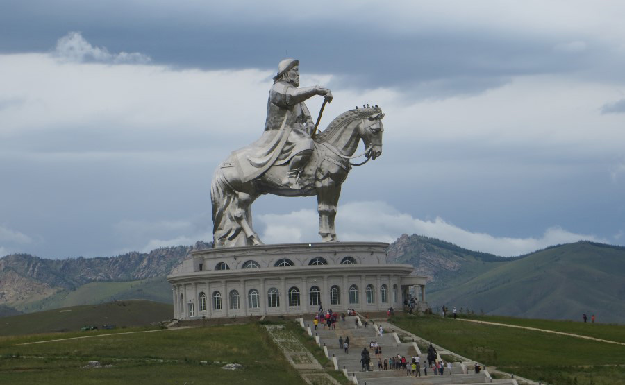things to see in mongolia gigantic genghis khan equestrian statue 1