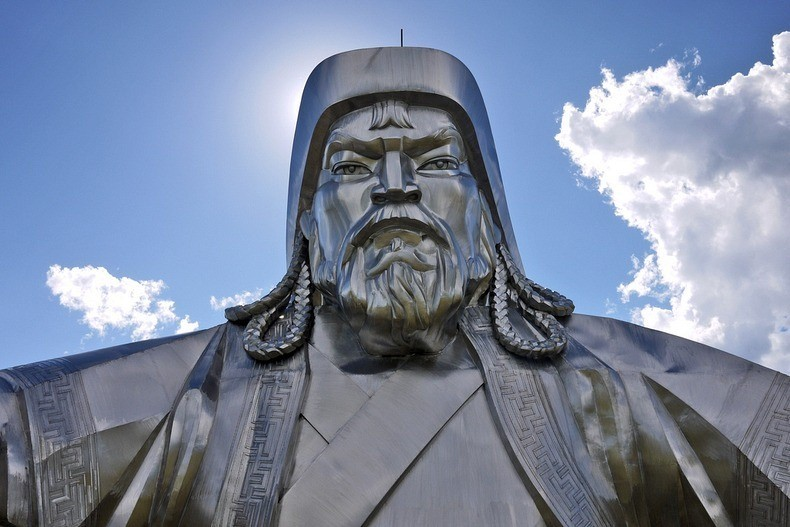 things to see in mongolia gigantic genghis khan equestrian statue 2