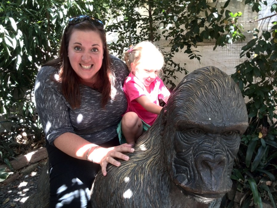 IMG_20150215_120426 chantelle lotter and jessica ride a gorilla
