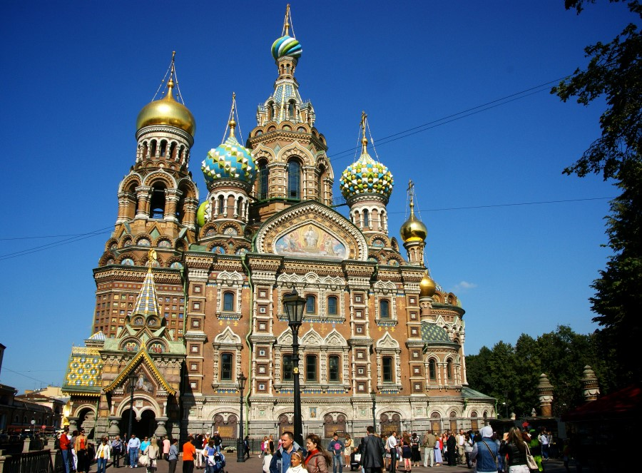 The Church of the Saviour on Spilled Blood