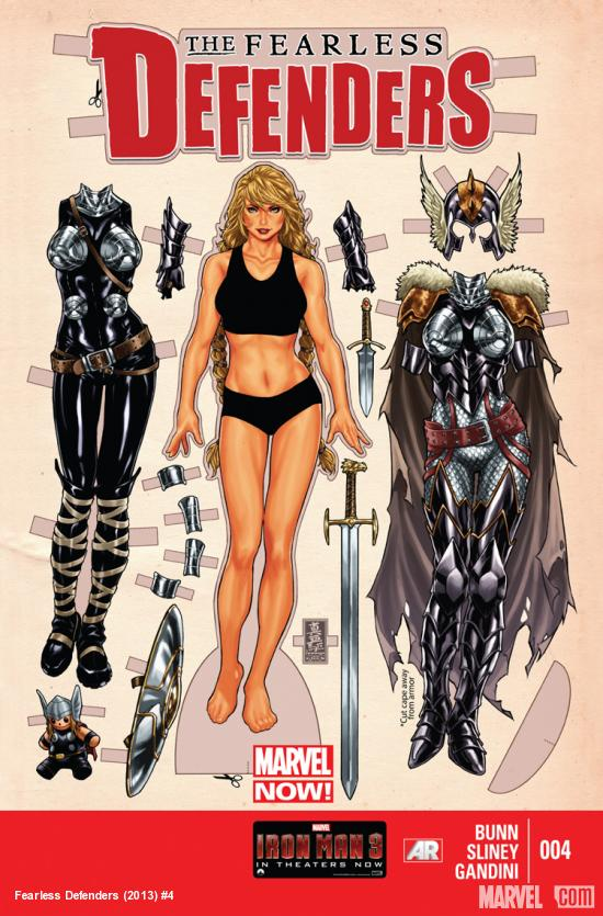 comic book art fearless defenders 4 sexy valkyrie by artist mark brooks