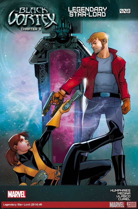 legendary star-lord issue 9 star lord versus kitty pryde art by paco medina