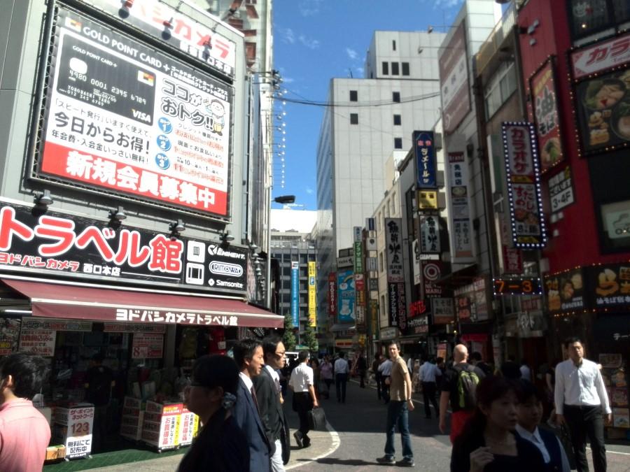 Lunch Time in Shinjuku, Tokyo
