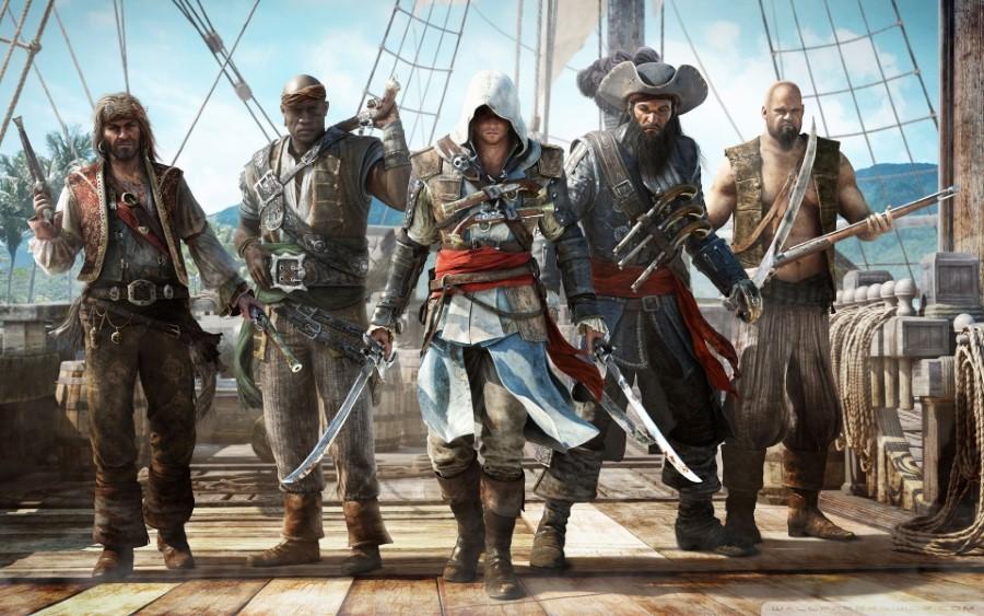 assassins creed iv black flag pirates walking