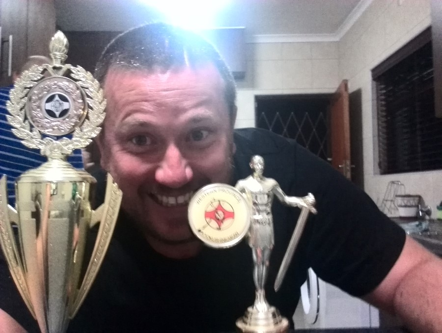 craig lotter wins both fifa trophies selfie