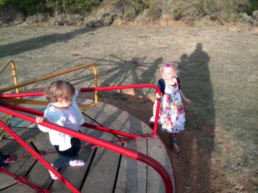 IMG_20150505_171515 jessica and emily lotter - girls playing on merry-go-round 2
