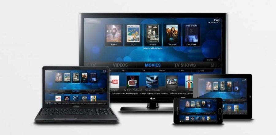 kodi.tv xbmc media player on different devices