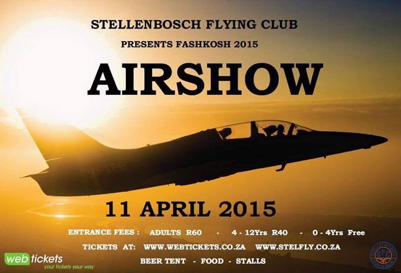stellenbosch flying club fashkosh 2015 stellenbosch airshow