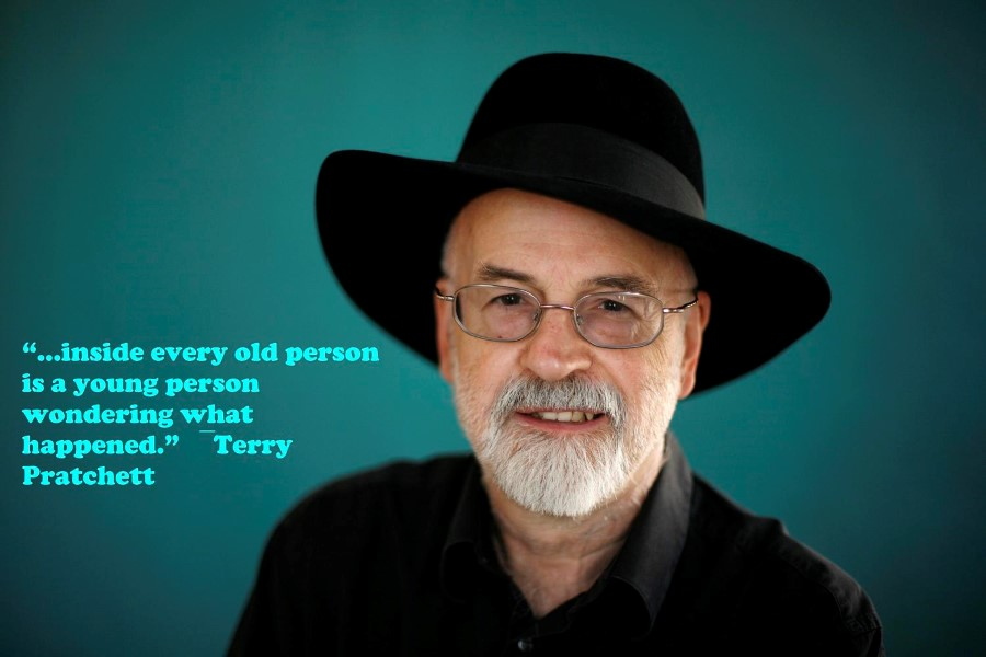 terry pratchett inside every old person quote