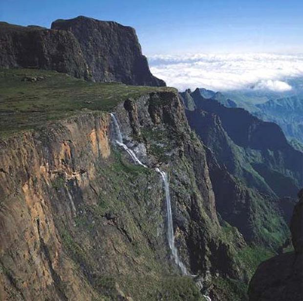 tugela falls waterfall in royal natal national park kwazulu natal south africa 5