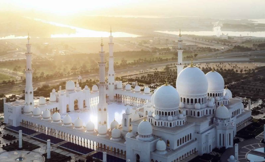 united arab emirates abu dhabi Sheikh Zayed Grand Mosque 5