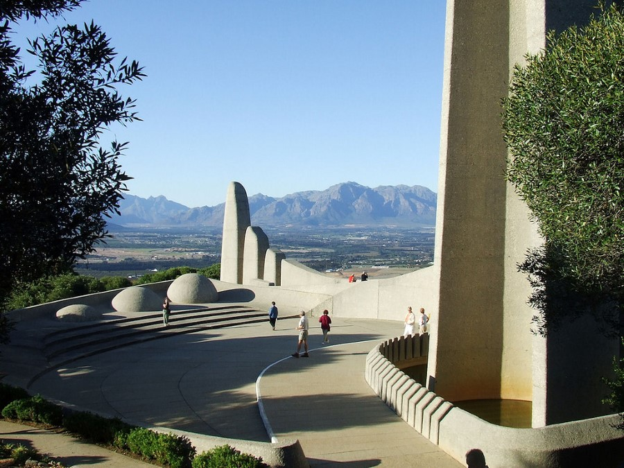 Afrikaans Language Monument in paarl, south africa - afrikaanse taalmonument 2