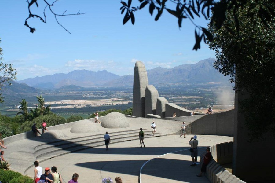 Afrikaans Language Monument in paarl, south africa - afrikaanse taalmonument 5
