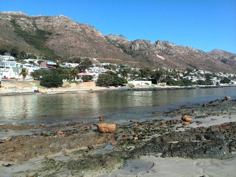 a walk along gordon's bay main beach in May 3