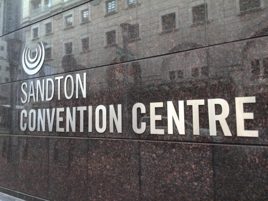 sandton convention centre signage