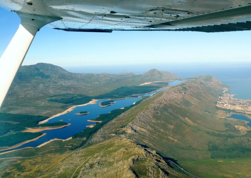 steenbras dam in the hottentots-holland mountains above gordons bay, capet town, south africa 2