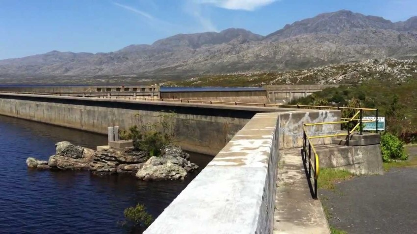 steenbras dam in the hottentots-holland mountains above gordons bay, capet town, south africa 3