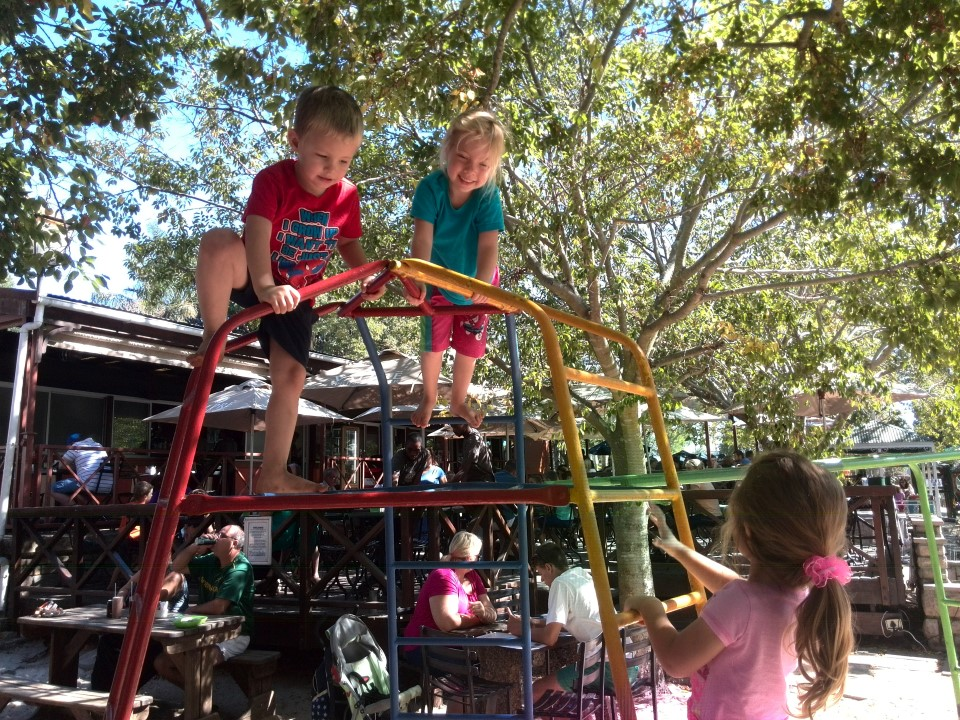 IMG_20150329_104256 logan, jessica and evalynne playing on a climbing frame at stodels