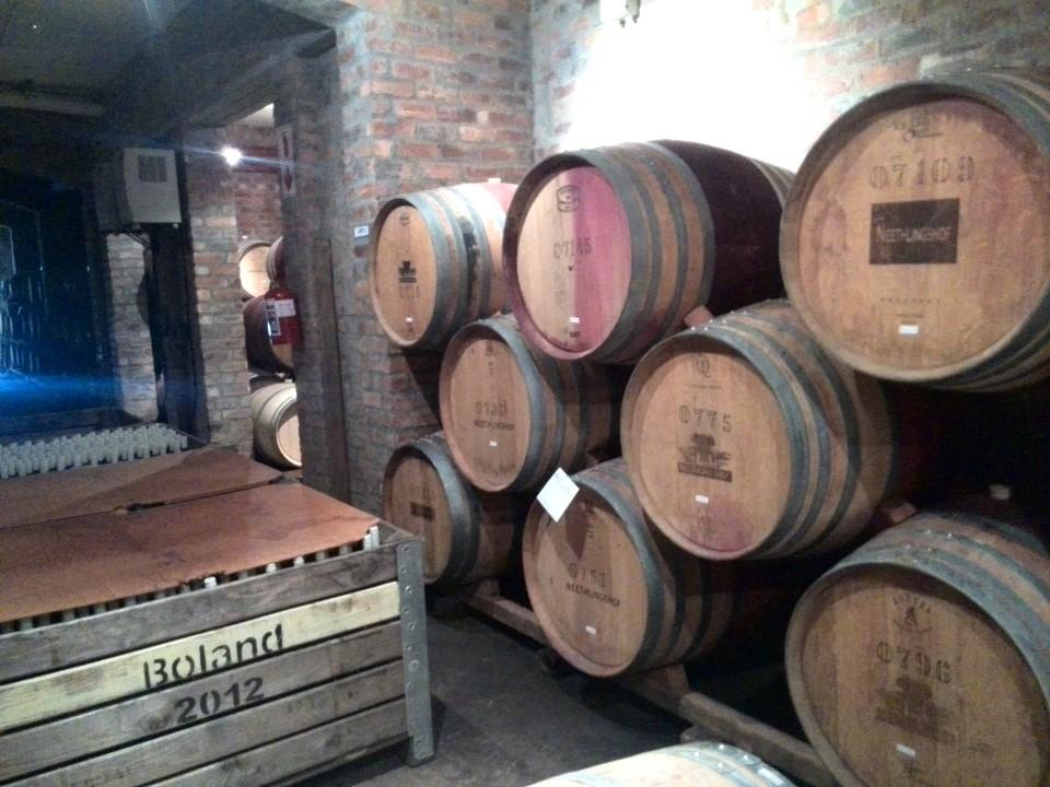 IMG_20150510_132547 la couronne cellar barrel tour in franschhoek