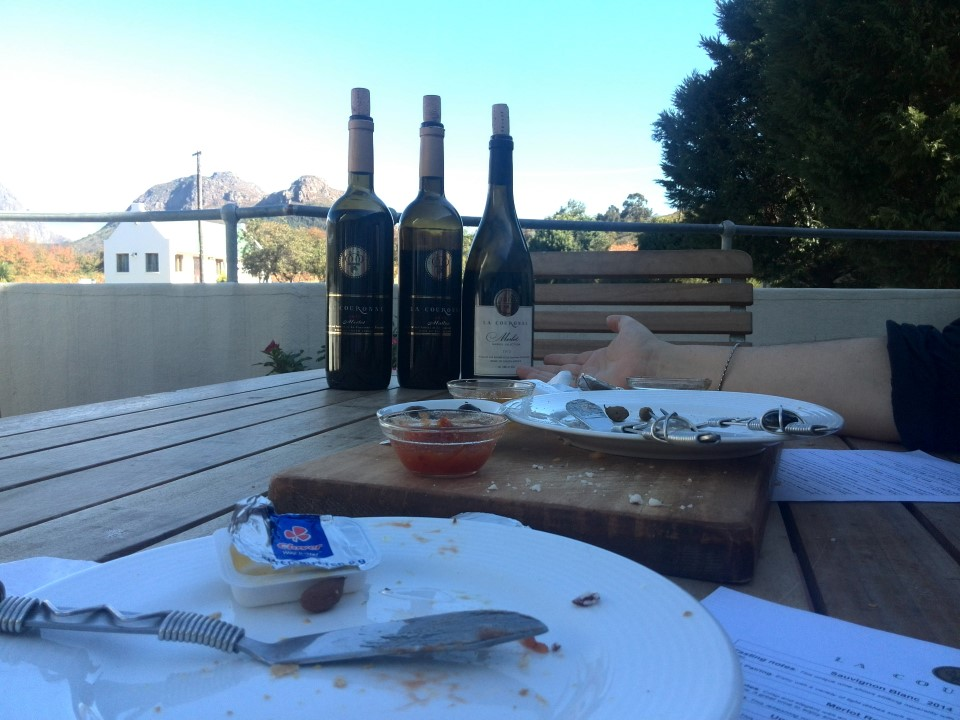 IMG_20150510_142759 wine tasting at la couronne wine estate in franschhoek