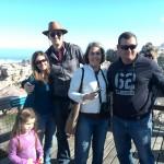 IMG_20150627_130903 dean, zania, natasha and evan at the stony point penguin colony in betty's bay