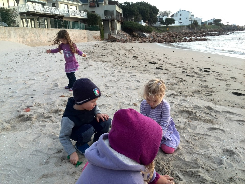 IMG_20150627_163412 jessica lotter kids playing in the sand on gordons bay beach