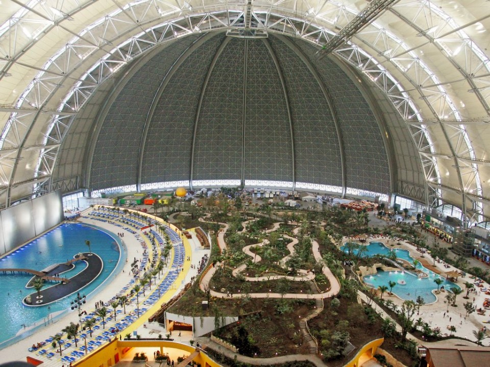 tropical islands world's largest indoor waterpark in germany 1