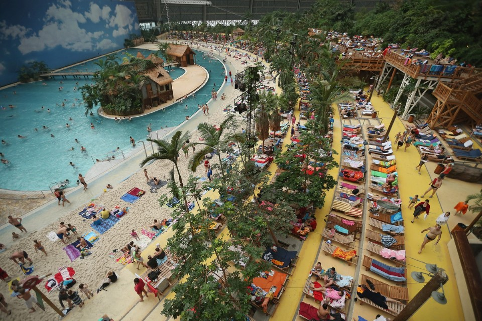 tropical islands world's largest indoor waterpark in germany 2