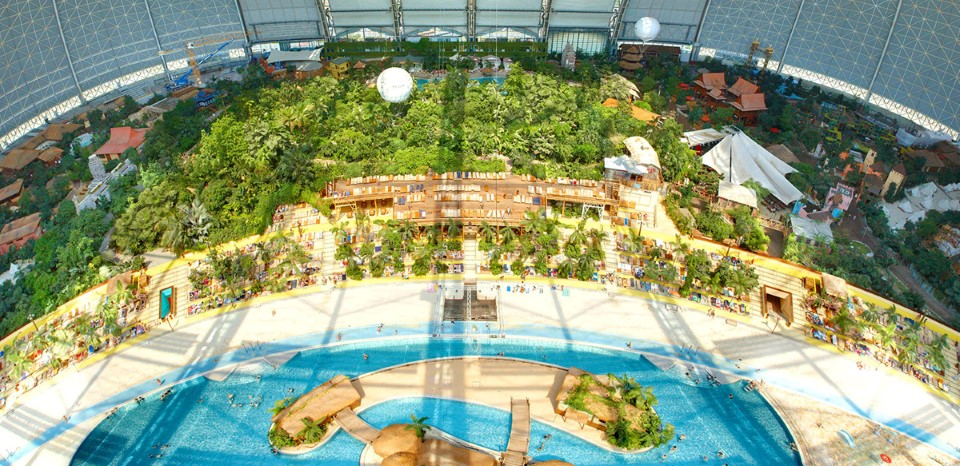 tropical islands world's largest indoor waterpark in germany 4