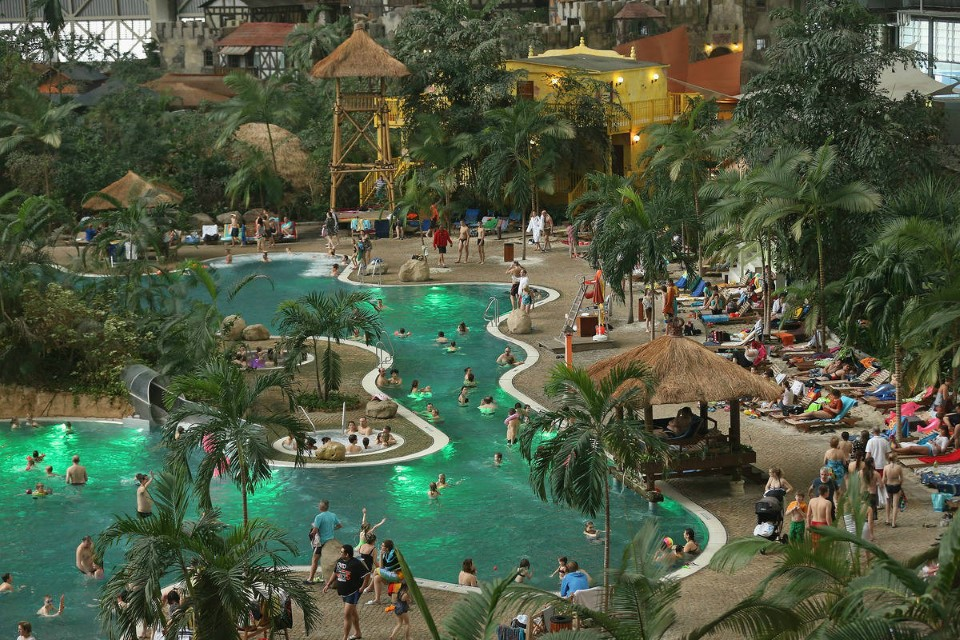 tropical islands world's largest indoor waterpark in germany 5