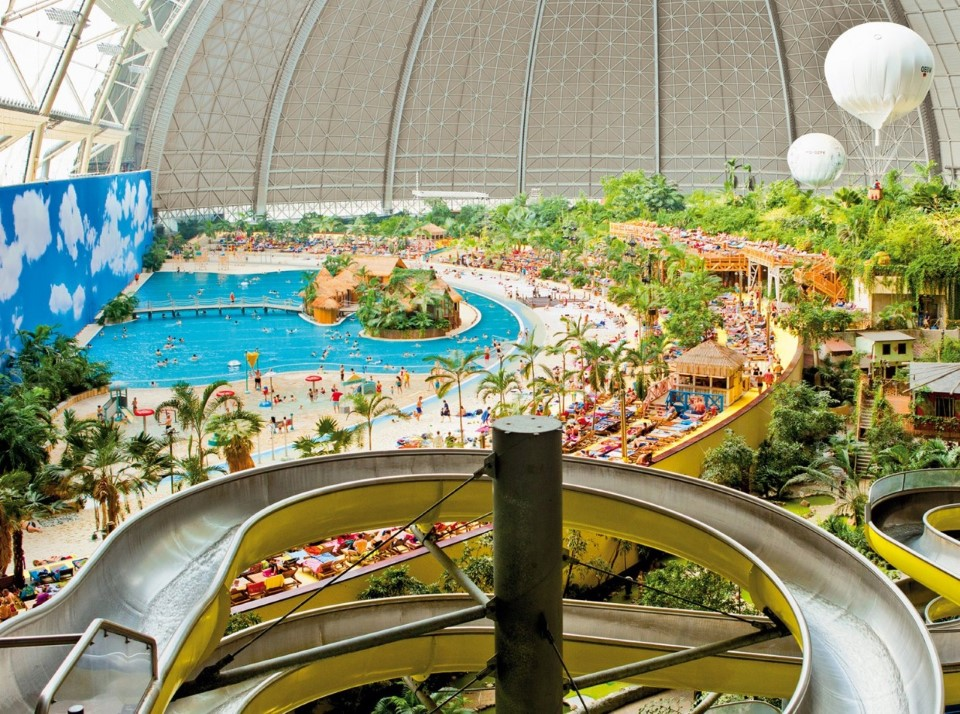 tropical islands world's largest indoor waterpark in germany 6