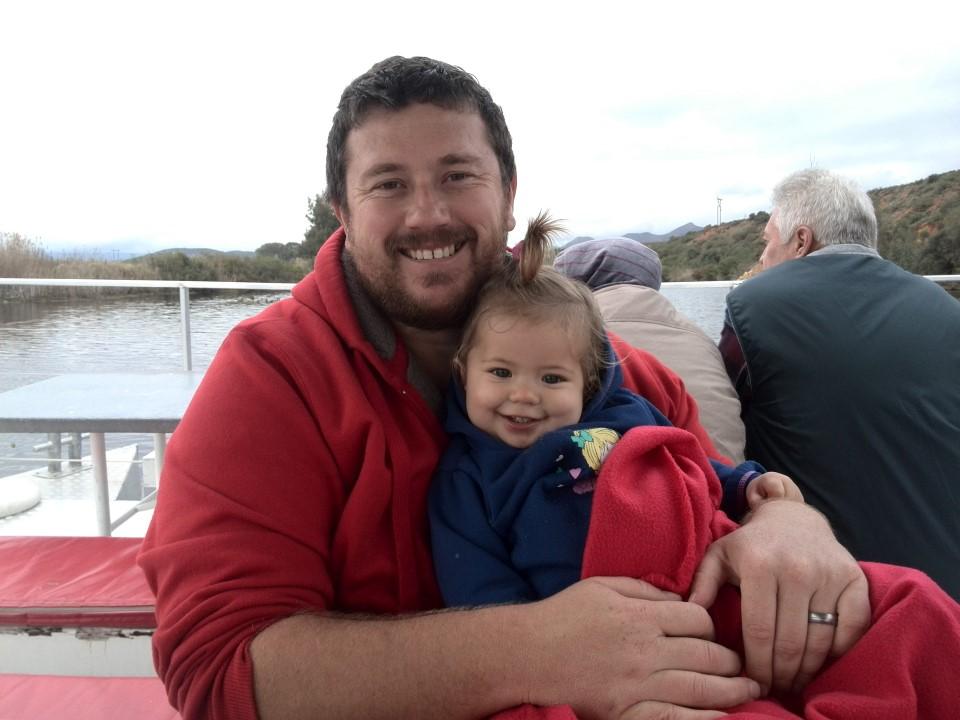 IMG_20150709_125658 craig lotter with emily on the viljoensdrift wine estate river boat ride