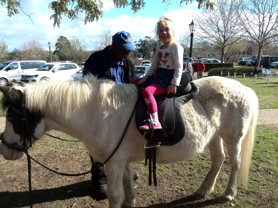 IMG_20150719_121256 jessica lotter on pearl the pony at blaauwklippen family market