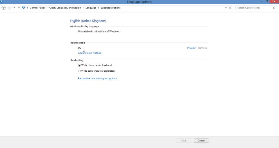 change keyboard layout screenshot 3