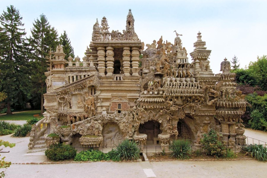 the ideal palace ferdinand cheval stone and pebble le palais ideal in hauterives france 2