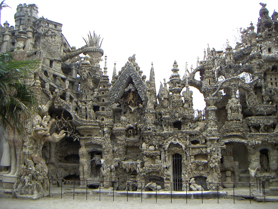 the ideal palace ferdinand cheval stone and pebble le palais ideal in hauterives france 4