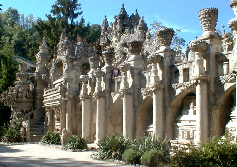the ideal palace ferdinand cheval stone and pebble le palais ideal in hauterives france 6