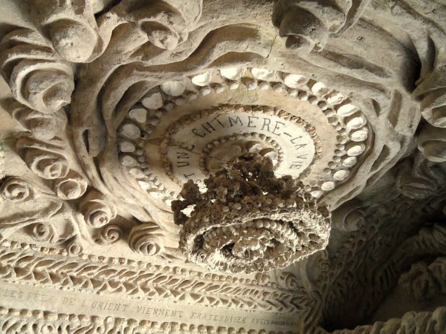 the ideal palace ferdinand cheval stone and pebble le palais ideal in hauterives france 7